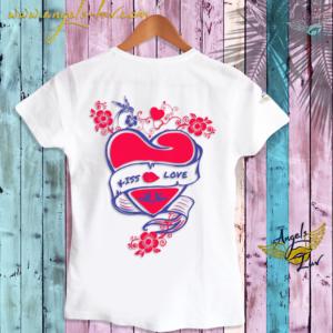 love sayings t shirt, french love, french kiss t shirt