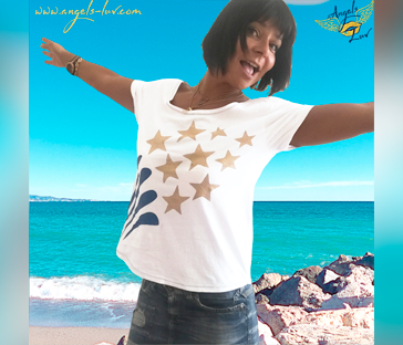 Positive t shirt design
