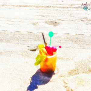 cocktail images on the beach
