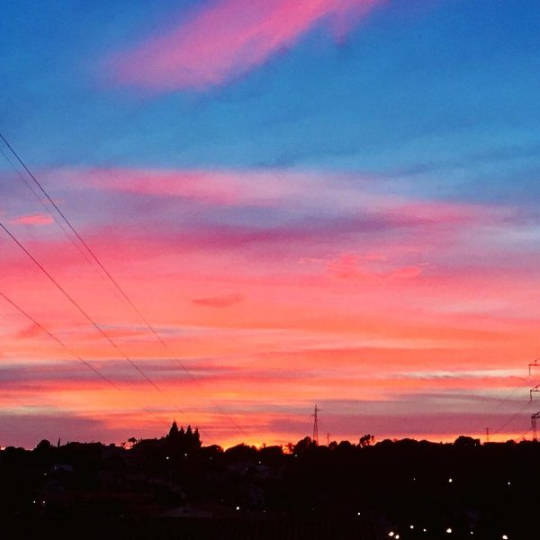 amazing sunsets, marbella