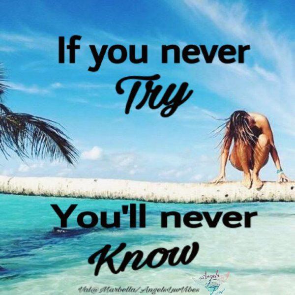 Try, Make it happen