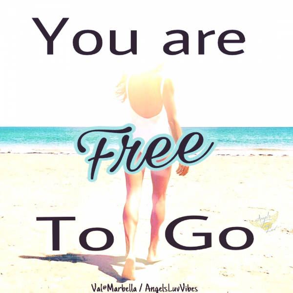 Freedom, Be Free, Live Free, You are Free to Go