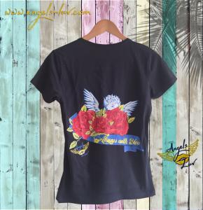 angel t shirt, guardian angel t shirt, angel love, angel gift