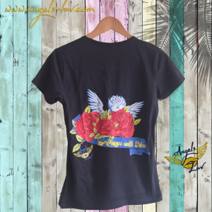 angel t shirt, guardian angel t shirt, angel love, angel gift