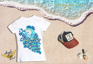 beautiful mysterious wild free ocean t shirt women