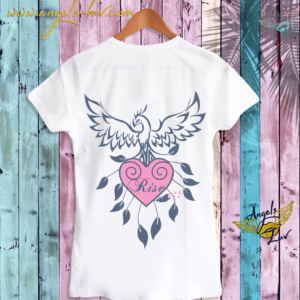 Phoenix rise fly t shirt design