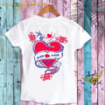 love sayings t shirt, french love, french kiss t shirt