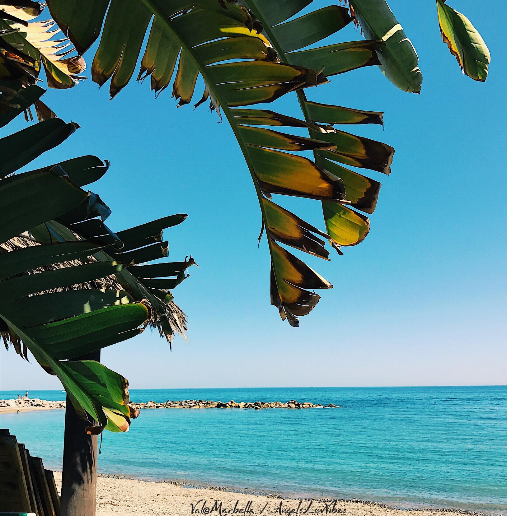 beach marbella, beach vibes