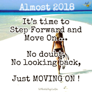 2018, step forward and move on