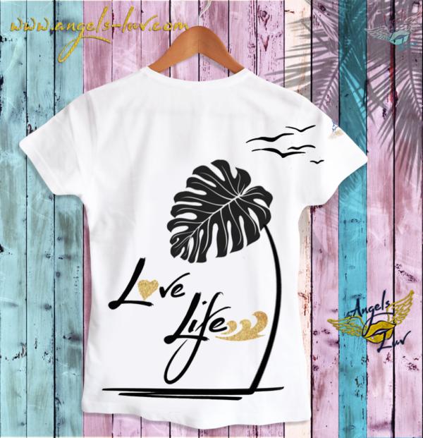 love life motivational t shirt