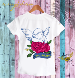 guardian angel love t shirt