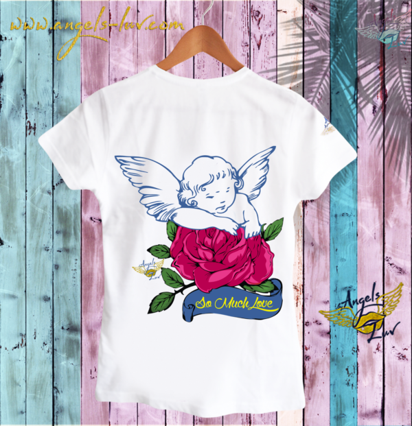 guardian angel love t shirt