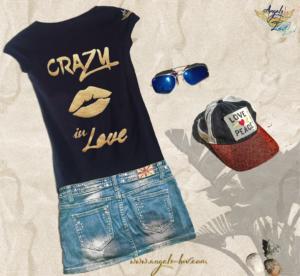 crazy in love inspired t shirt women handmade