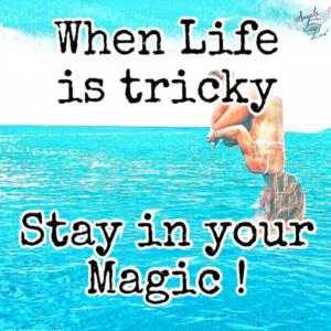 positive magic quotes