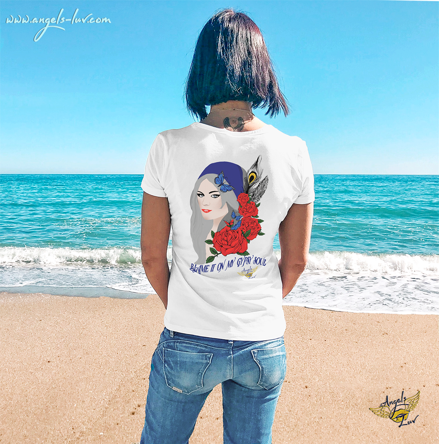 May Girl The Soul of A Gypsy Woman T-Shirt