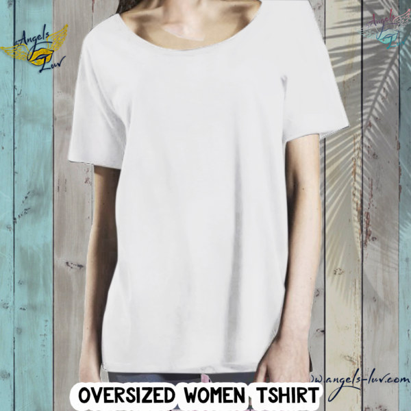 loose relaxed women t shirt