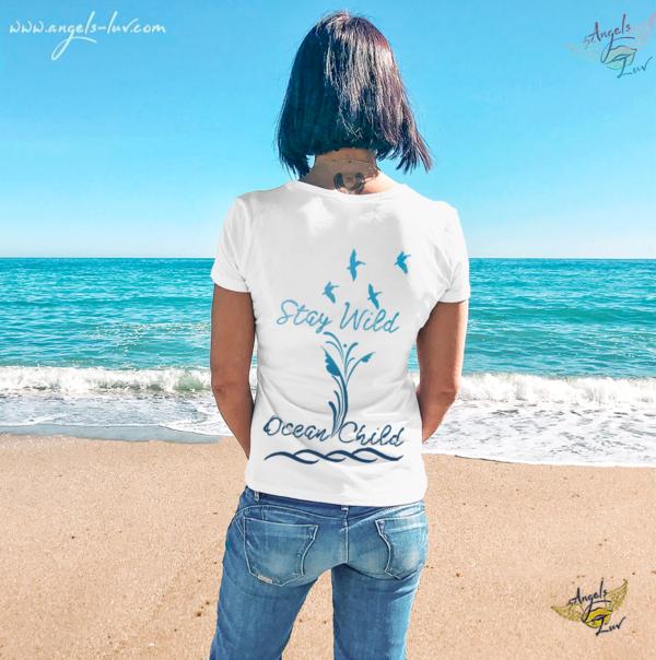 Beach Wild life women t shirt sayings summer vibes