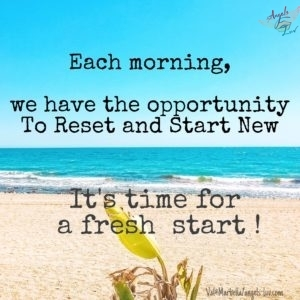 good morning quotes Fresh start