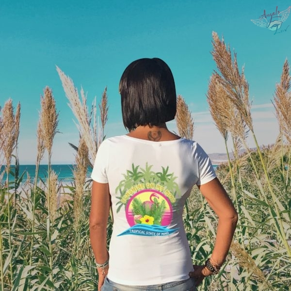 Tropical state of mind quotes t shirt
