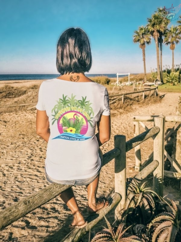Tropical state of mind sunshine t shirt