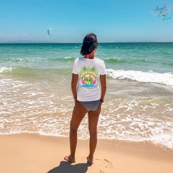 Tropical summer beach girls t shirt quotes